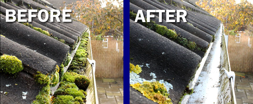 Gutter cleaning service in Reading
